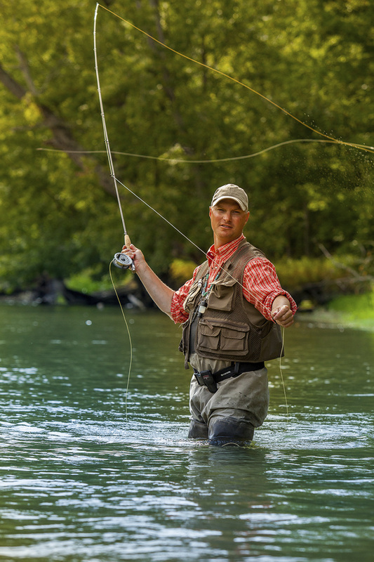 Michigan Fly Fishing - Chad Betts Fly Casting - Michigan Steelhead Fly Fishing - Fly Fish MI