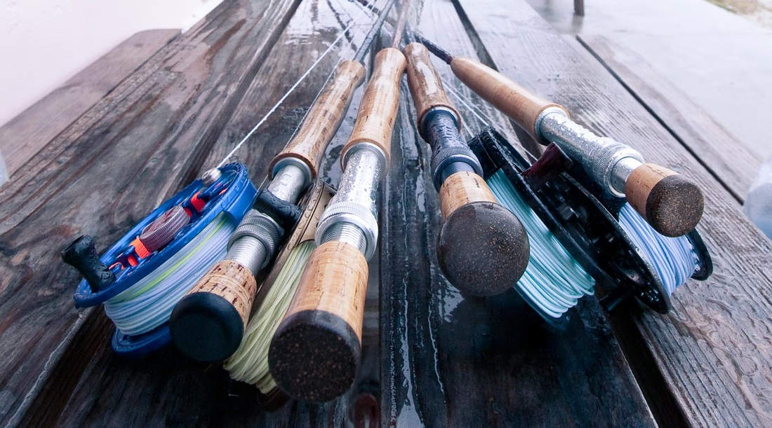 Michigan Fly Fishing - Selection of Fly Rod and Reels - Fly Fishing Guides For Michigan - Fly Fishing Steelhead in Michigan
