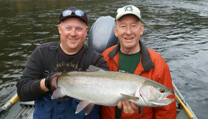 Pere Marquette River Fishing Report - Steelhead Fishing MI