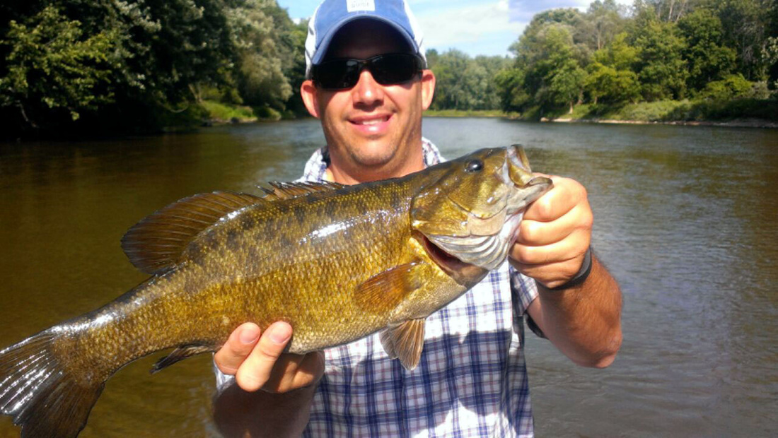 Trophy Smallmouth Bass - Muskegon River Smallmouth - Newaygo, MI