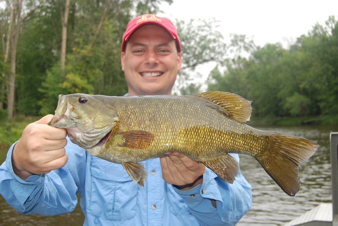 Michigan Smallmouth Bass Guides - Muskegon River Smallmouth - MI