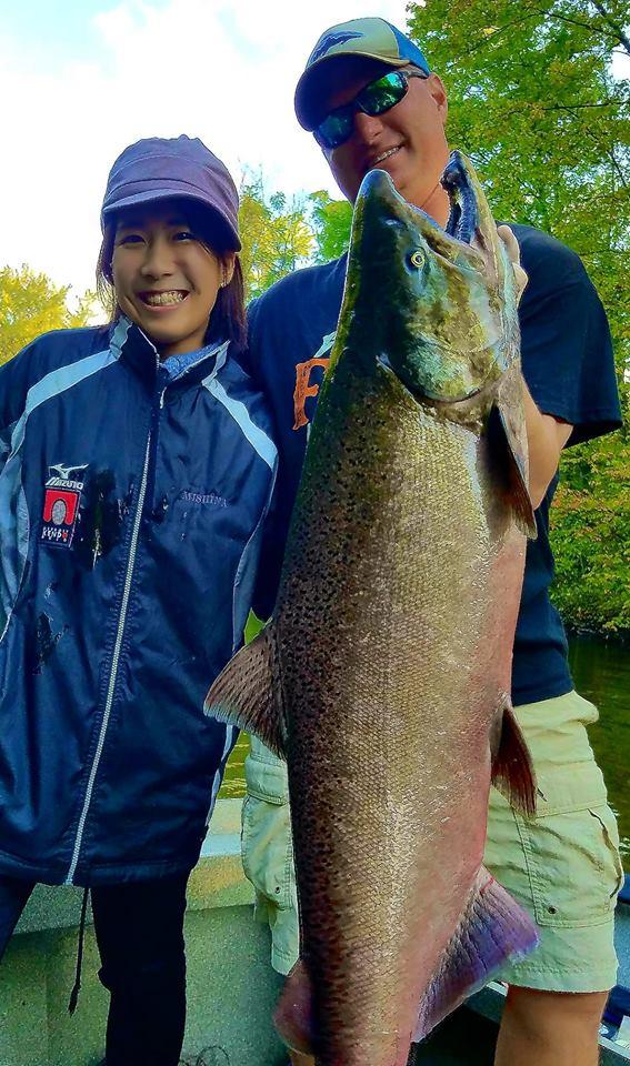 Michigan Steelhead Fishing - Guided Steelhead Trout Salmon