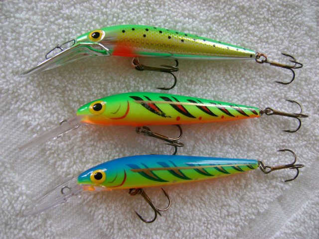 ThunderStick Lure Selection For Michigan King Salmon
