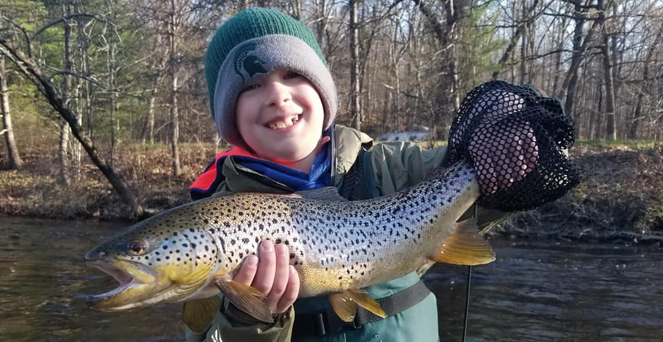 Trout Fishing Muskegon River