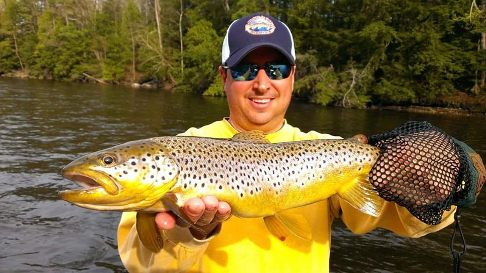 Tippy Dam Trout Fishing