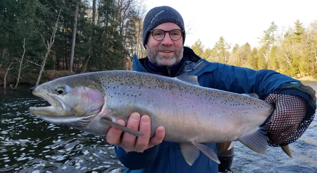 Spring Steelhead Fishing Michigan